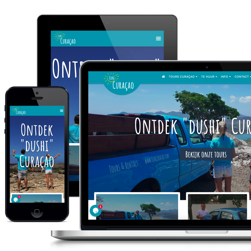 Fun Curacao website