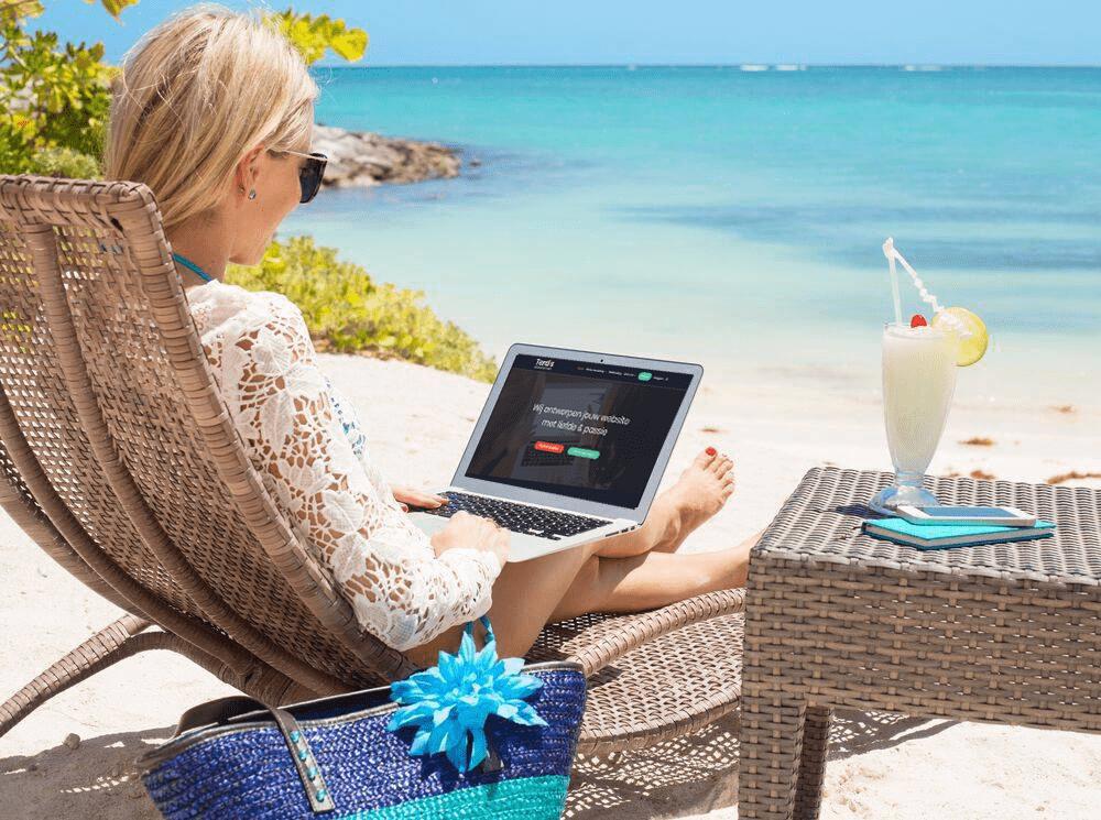 Website made Curacao