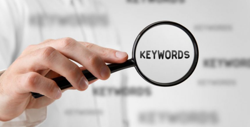 Google Keywords blog